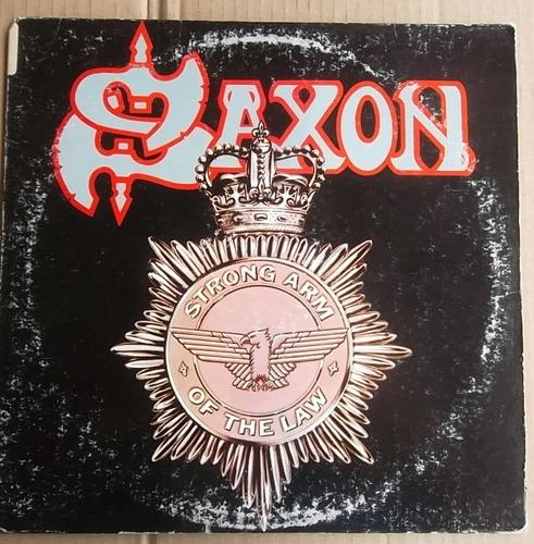 vinilo saxon strong arm
