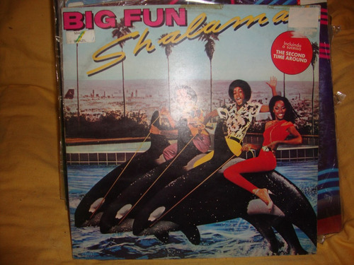 vinilo shalamar big fun p2