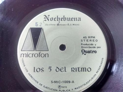 vinilo singe de los 5 del ritmo -  nochebuena  ( f63