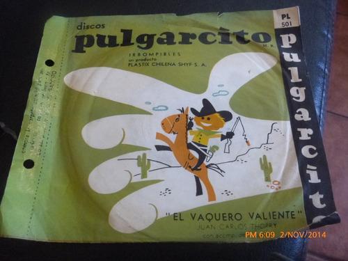 vinilo singl de pulgarcito -- clementina( i123