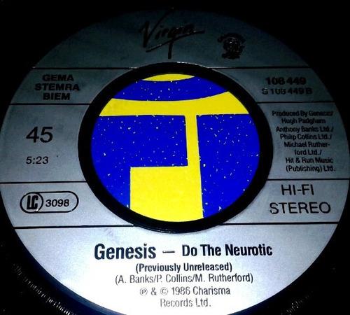 vinilo single 45 - genesis