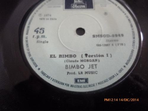 vinilo single bimbo jet --el bimbo ( s136
