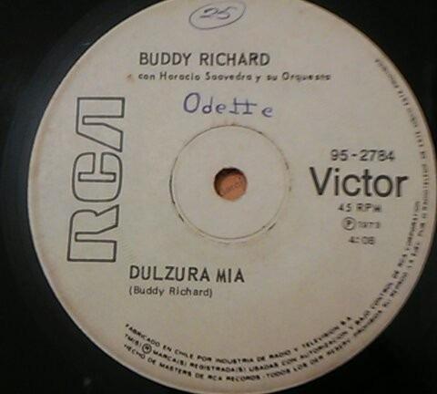 vinilo single buddy richard - dulzura mia ( t1 -  h85