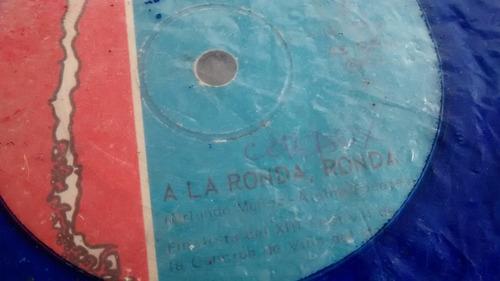vinilo single  charo cofre --a la ronda rondal ( c24