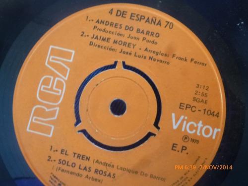 vinilo single de 4 de españa -- el tren(a428