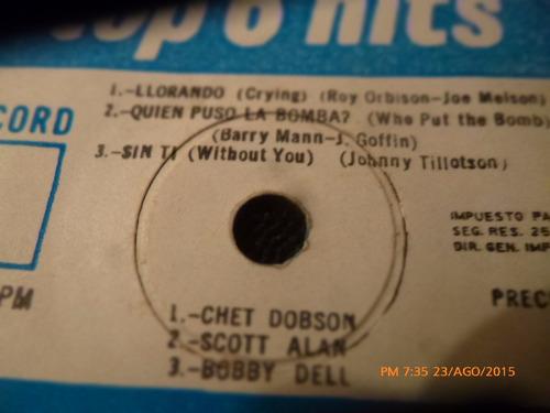 vinilo single de 6 top hips ( p67