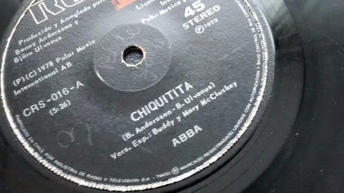vinilo  single de - abba -- lovelight  ( k88
