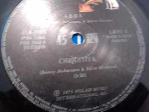 vinilo single de abba - luz de amor ( k56