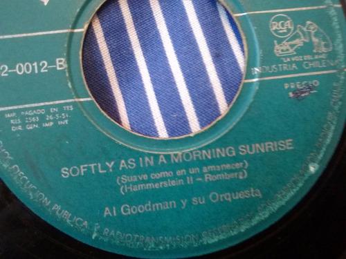 vinilo single de al goodman -  tico tico( k140