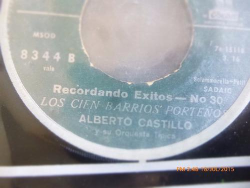 vinilo single de alberto castillo  -- buzon ( r26