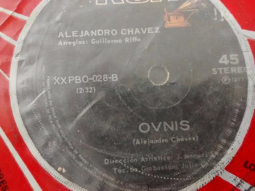 vinilo single de alejandro -chavez - cancion inutil ( f138