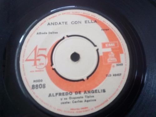 vinilo single de alfredo de angelis - volvamos a empez(a2187