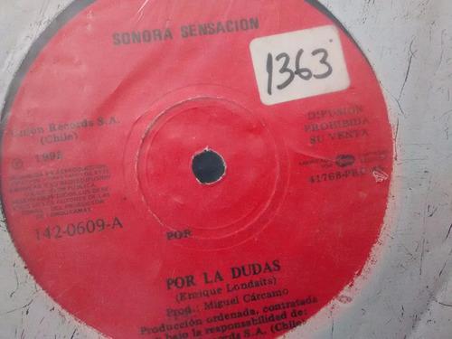 vinilo single de banda lider -- flaca( f145