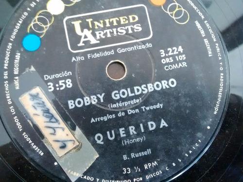 vinilo single de bobby goldsboro - querida( e68