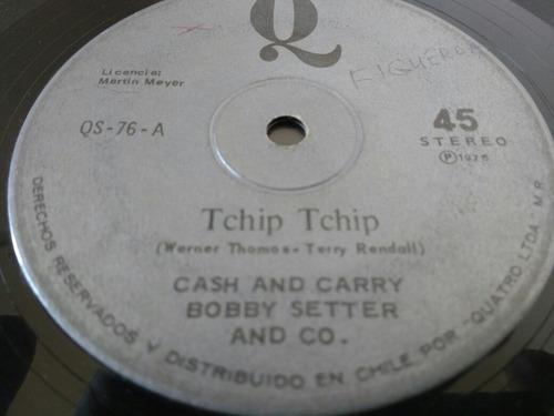 vinilo single de bobby setter cash and( l -6