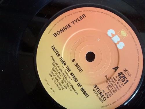 vinilo single de bonnie tyler - holding out for a her ( q72