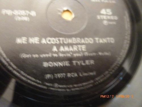 vinilo single de bonnie tyler -it a heartache ( i63