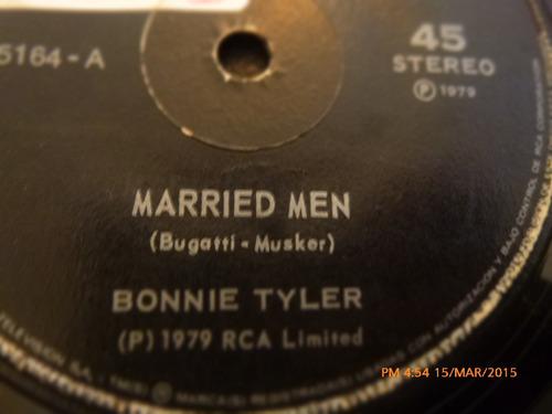 vinilo single de bonnie tyler - married men ( c137
