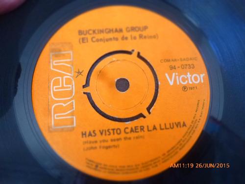 vinilo single de buckinghan group - has visto caer la ( n144