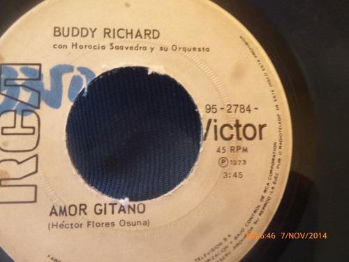 vinilo single de buddy richard -- dulzura mia( a91