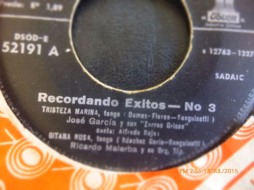 vinilo single de carlinhos --salud dinero y amor  ( r57
