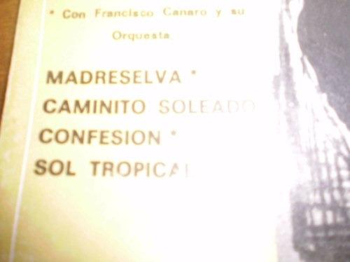 vinilo single de carlos garde _ confesionl (a199)