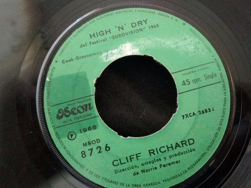 vinilo single de cliff richard - felicitaciones( f135