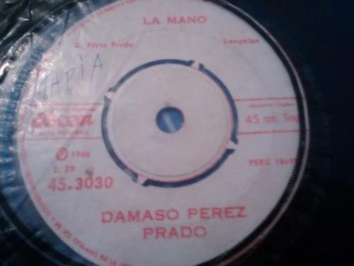 vinilo single de damaso perez prado - el taconazo ( f5