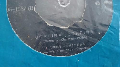 vinilo single de danny chilean  -- veronica  ( u114