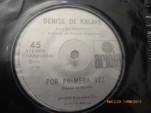 vinilo single de denise de kalafe -- el amor cosa ( b130
