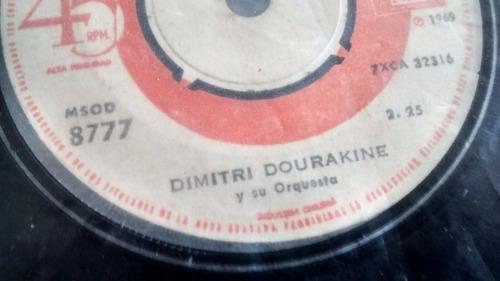 vinilo single de dimitri dourakine -casatschok ( c8