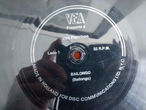 vinilo  single de don francisco el mordisco ( q145