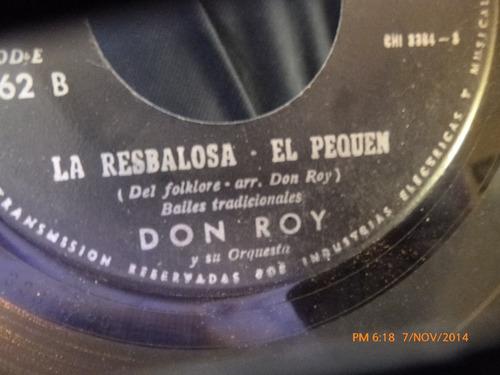 vinilo single de don roy  -la resbalosa ( v19