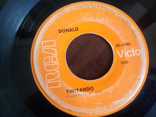 vinilo single de donald - si lo vieran pasar ( p41