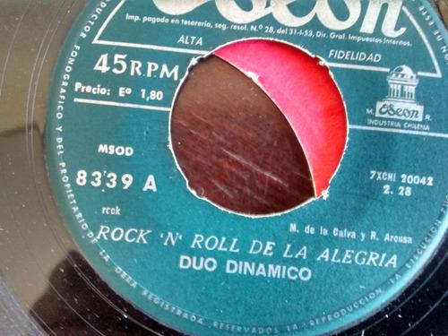 vinilo  single de duo dinamico - baby twist( t80
