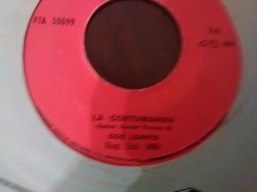 vinilo single de duo loreto - la contaminada( k70