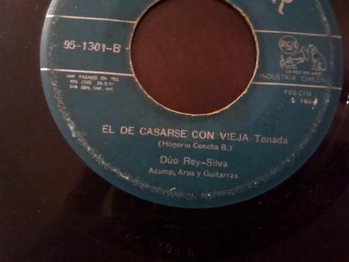 vinilo single de duo rey silva - los marineros- ( k83