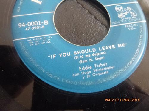 vinilo single de eddie fisher - if you should leave (a141