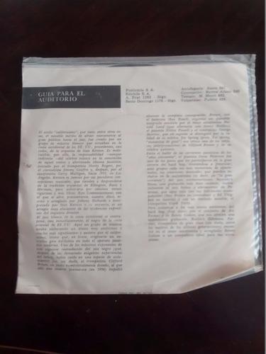 vinilo single de el jazz californiano  -( t150
