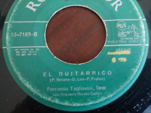 vinilo single de ferruccio tagliavini - el guitarrico ( e74