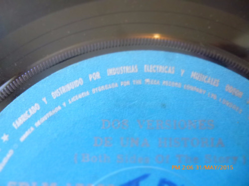 vinilo single  de first class -- muchacha playera (  h105