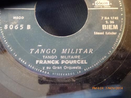 vinilo single de frank pourcel --mañana de carnaval( s143