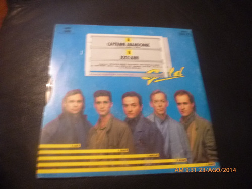 vinilo single de gold -- capitaine abandonne ( h26