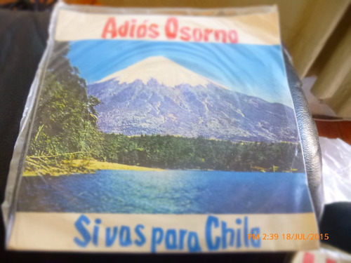 vinilo single de guido andrade -adios osorno   (    r125