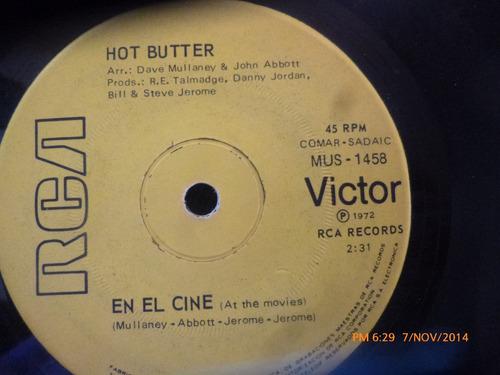vinilo single de hot butter -- popcorn(  s121