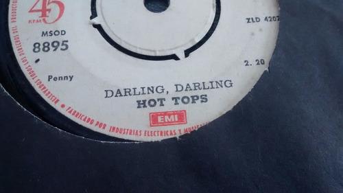 vinilo single de hot tops -- suzanne suzanne ( u116