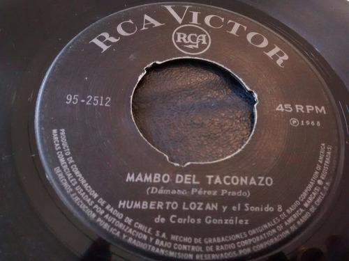 vinilo single de humberto lozan - el mambo de taconazo( n109