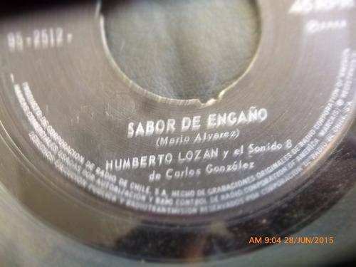 vinilo single de humberto lozan --el manbo del tacona ( t13
