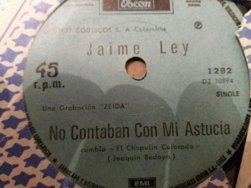 vinilo single de jaime ley los huerfanitos ( v129