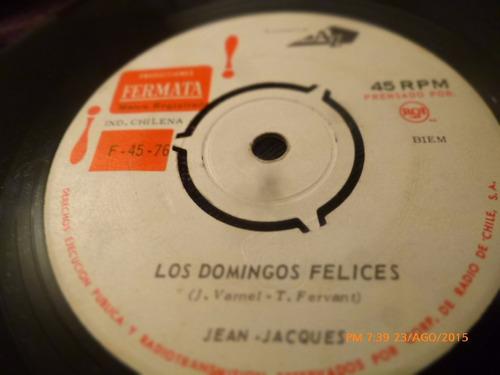 vinilo single de jean jacques -- mama  ( n14